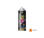 Краска-эмаль аэрозольная флуоресцентная INRAL 400мл, оранжевая