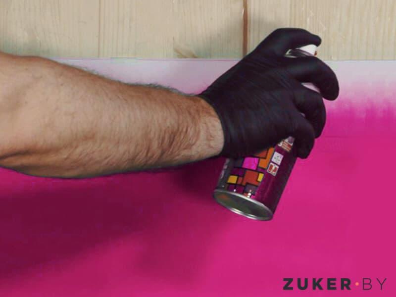 Аэрозольная покраска ПВХ