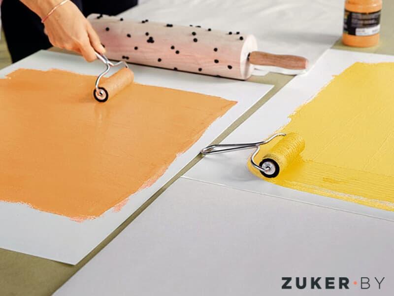 Покраска ПВХ акриловой краской